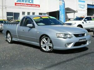 2007 Ford Falcon BF MkII XR6 Silver 4 Speed Auto Seq Sportshift Utility Tuggerah Wyong Area Preview