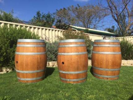 Wine barrel hire - $35 All Areas