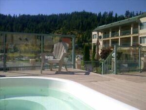 summer rental in Sicamous 1/1, sleep 6, $1295/week