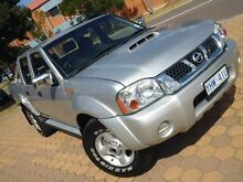 2012 Nissan Navara D22 Series 5 ST-R (4x4) Silver 5 Speed Manual Dual Cab Pick-up Belconnen Belconnen Area Preview