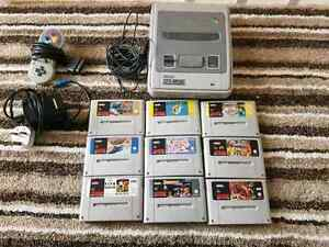 Super Nintendo with 9 top games Stanthorpe Southern Downs Preview