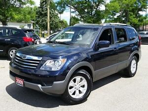 2009 Kia Borrego WOW THIS IS THE REAL KM!! NO ACCIDENTS !!!4X4