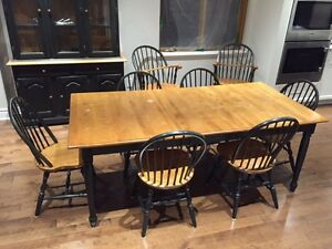 Country Style Dining Set 11 pieces