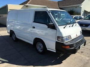 2010 Mitsubishi Express SJ MY11 SWB White 5 Speed Manual Van Park Holme Marion Area Preview