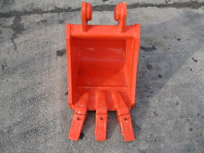 New Kubota Kx018 U17 12 Mini Excavator Bucket K7780a With Teeth Free Shipping