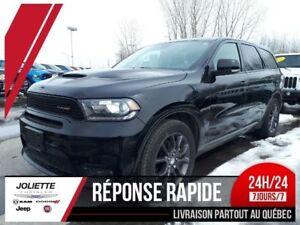 2018 Dodge Durango R/T, AWD, 5.7L HEMI 7 PASSAGER, CUIR, TOIT, N