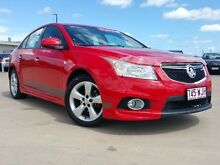 2012 Holden Cruze JH Series II MY12 SRi Red 6 Speed Manual Sedan Garbutt Townsville City Preview