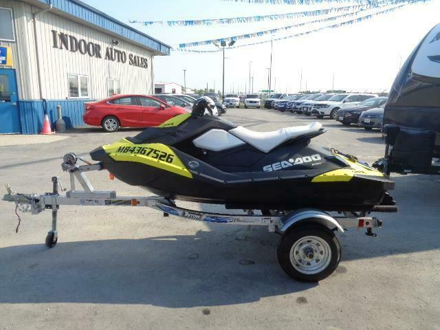 2014 Sea-Doo Spark With 2020 TRITON WAVE trailer 90 hp Jet drive