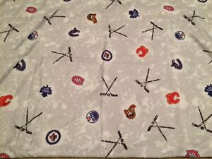 NHL Double Bed Sheets