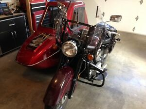 **Rare** Kawasaki Drifter 1600 with Deluxe Motorvation Side Car