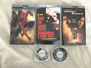 5 PSP Movies for 20 dollars