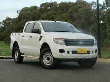 2014 Ford Ranger PX XL Double Cab White 6 Speed Sports Automatic Utility Strathalbyn Alexandrina Area Preview