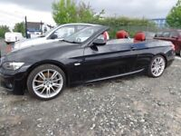 2007 BMW 320 Hardtop Convertible M-Sport Spec Lovely Was £5995 NOW £4995 To Clear