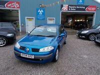 RENAULT MEGANE 1.5 DYNAMIQUE DCI 5d 80 BHP £30 a year road (blue) 2004
