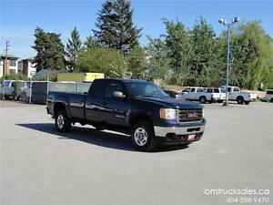 2011 GMC SIERRA 2500HD SLE EXT CAB LONG BOX 4X4