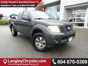 2011 Nissan Frontier PRO-4X *ACCIDENT FREE*ONE OWNER*LOCAL BC...