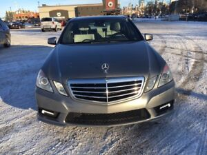 2010 Mercedes-Benz E-550 4Matic Sedan Low Mileage