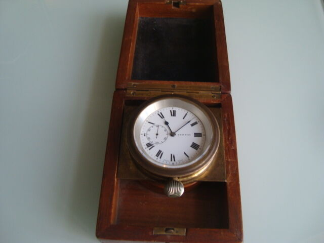 Very Rare Marine Chronometer Deck Watch Zenith №2614756
