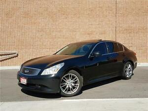 2008 Infiniti G35X SPORT AWD-PADDLE SHIFT-LEATHER-SUNROOF