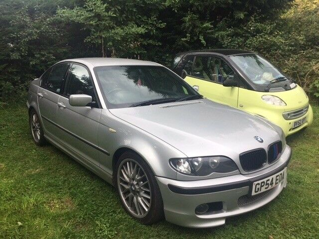 Bmw E46 325i M Sport 4 Door In Silver 2001 Facelift