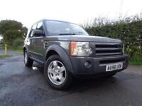 2006 56 LAND ROVER DISCOVERY 3 2.7 TDV6 S 5D AUTO 188 BHP DIESEL