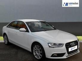 2014 Audi A4 TFSI QUATTRO SE TECHNIK Petrol white Automatic