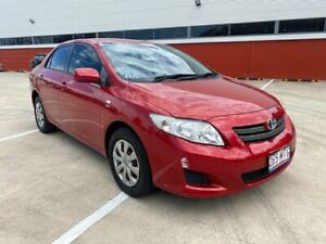 2008 Toyota Corolla ZRE152R Ascent Red 4 Speed Automatic Sedan Morayfield Caboolture Area Preview