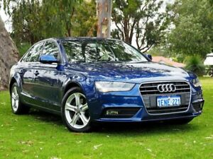 2014 Audi A4 B8 8K MY14 Multitronic Blue 8 Speed Constant Variable Sedan Myaree Melville Area Preview