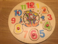 ELC Clock Puzzle