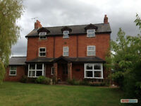 6 bed detached farmhouse in Newent - see website