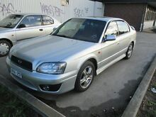 2002 Subaru Liberty B3 MY02 RX AWD Silver 4 Speed Automatic Sedan Tottenham Maribyrnong Area Preview