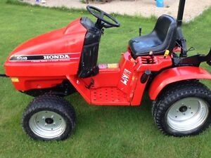 HONDA 5518 TRACTOR 4 X 4 SNOWBLOWER DECK