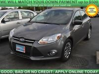 2012 Ford Focus SE, $39/Week or $173/Month, NO MONEY DOWN