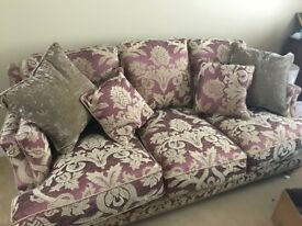 Suite of furniture - never used - pristine condition - cushions also