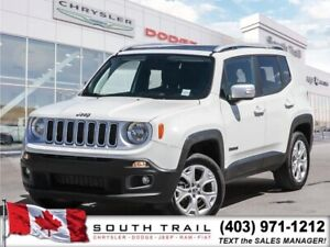 2018 Jeep Renegade Limited, LEATHER, CALL 403-809-9683 $198B/W