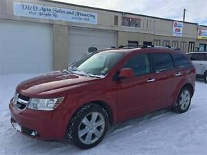 2010 Dodge Journey R/T-AWD-SUNROOFLEATHER-LOADED-DVD-REAR CAM