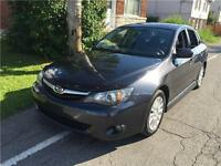 SUBARU IMPREZA 2010 , 2.5L , 185000 KM, AWD , AUTOMATIQUE, FULL,