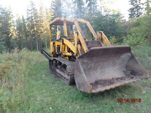 Case 850 track backhoe