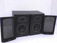 70W KEF F1 Stereo Speakers - Heathrow