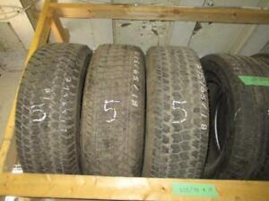 USED LT 275/65 R18 GOODYEAR WRANGLER TIRES (SET OF 3) - 99% TREAD