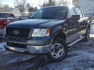 2005 Ford F-150 4x4 Crew safetied & etested