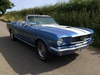 FORD MUSTANG 1966 V8 CONVERTIBLE