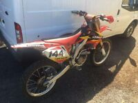 Honda crf 250 2008 twin pipe £1250ono