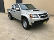 2010 Holden Colorado RC MY10 LX Utility Crew Cab 4dr Man 5sp 4x4 1028kg 3.0DT Silver, Chrome Manual Villawood Bankstown Area Preview