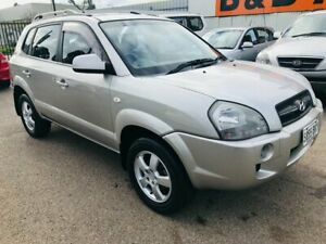 2008 Hyundai Tucson 08 Upgrade City SX Silver 4 Speed Automatic Wagon Woodville Park Charles Sturt Area Preview