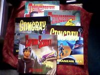 THUNDERBIRDS/STINGRAY/CAPTAIN SCARLET - RETRO/VINTAGE 1992/1993 BOOKS