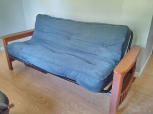 Like New Solid Built Futon