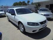 2008 Ford Falcon BF Mk II XT White 4 Speed Sports Automatic Wagon Bayswater Bayswater Area Preview