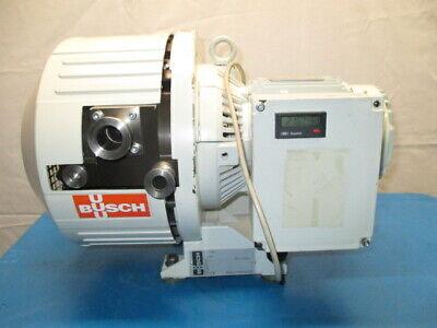 Busch F0 0018 A 0H0 Vacuum Pump, Leroy Somer 107101/23-2002, LS80PR, RS1054