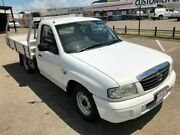 2003 Mazda Bravo B2600 DX SINGLE CAB White Manual Cab Chassis Garbutt Townsville City Preview